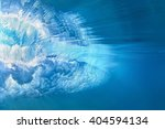 underwater photo of ocean... | Shutterstock . vector #404594134