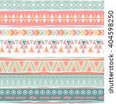 tribal navajo seamless pattern. ... | Shutterstock .eps vector #404598250