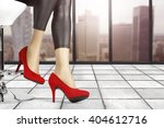 background of woman legs and... | Shutterstock . vector #404612716