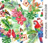 Tropical Pattern Seamless...