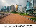 Seaside Walkway In Hong Kong...