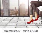 window and floor background... | Shutterstock . vector #404617060