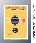 indie musician concert show... | Shutterstock .eps vector #404619694