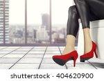 interior of gray floor and... | Shutterstock . vector #404620900