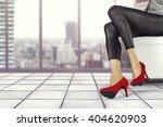 interior of gray floor and... | Shutterstock . vector #404620903