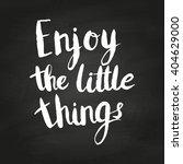 conceptual handdrawn phrase... | Shutterstock .eps vector #404629000