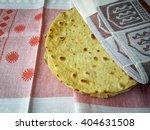 tortilla on plate  vegetarian...