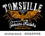 riders t shirt graphic | Shutterstock . vector #404639458