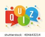 quiz | Shutterstock .eps vector #404643214