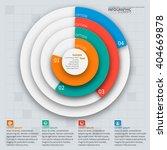 vector abstract 3d paper... | Shutterstock .eps vector #404669878