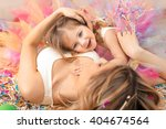 mother day concept. happy woman ... | Shutterstock . vector #404674564
