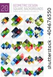 mega collection of square... | Shutterstock .eps vector #404676550