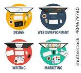 design  web development ... | Shutterstock .eps vector #404679760