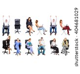 people diversity corporate... | Shutterstock . vector #404681029