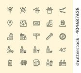 party icons | Shutterstock .eps vector #404687638