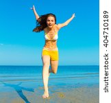 beautiful spirit carefree... | Shutterstock . vector #404710189