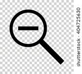 magnifying glass icon | Shutterstock .eps vector #404725630