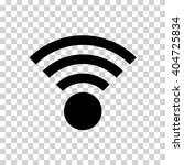 wifi signal icon | Shutterstock .eps vector #404725834