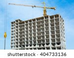 Construction Work Site And Hig...