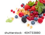 assorted fruits and leaves.... | Shutterstock . vector #404733880