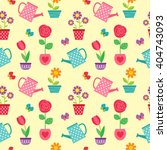cute seamless vector pattern... | Shutterstock .eps vector #404743093