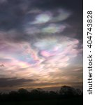 Iridescent  Nacreous Clouds...