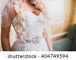 wedding dress   Shutterstock . vector #404749594