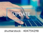 technology concept  update | Shutterstock . vector #404754298
