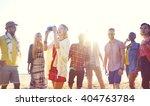 friendship freedom beach summer ... | Shutterstock . vector #404763784