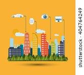 smart city vector design ... | Shutterstock .eps vector #404764249