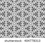 ornament with black and white... | Shutterstock . vector #404778313