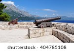 cannons at medieval fortress in ... | Shutterstock . vector #404785108