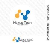 letter n logo design.... | Shutterstock .eps vector #404796508