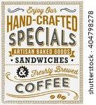 vintage menu background   retro ...   Shutterstock .eps vector #404798278