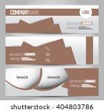 banner template. abstract...   Shutterstock .eps vector #404803786