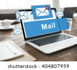 Small photo of Mail Communication Connection Global Letters Concept