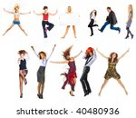 isolated group | Shutterstock . vector #40480936