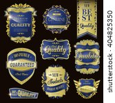 modern premium quality labels... | Shutterstock . vector #404825350