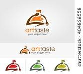 creative logo art taste... | Shutterstock .eps vector #404836558
