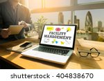facility management thoughtful... | Shutterstock . vector #404838670