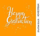 hand drawn lettering poster... | Shutterstock .eps vector #404839864
