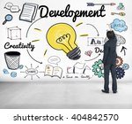 development improvement vision... | Shutterstock . vector #404842570