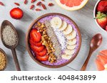 Smoothie Bowl With Chia Seeds ...