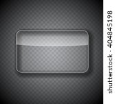 glass frame  rectangular button ... | Shutterstock .eps vector #404845198