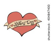 happy mothers day lettering.... | Shutterstock . vector #404847400