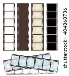 set of various types of film... | Shutterstock .eps vector #404868736