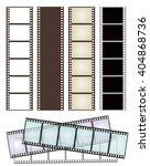 set of various types of film... | Shutterstock .eps vector #404868736