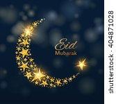 eid mubarak vector background   Shutterstock .eps vector #404871028