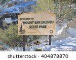 mount san jacinto state park ... | Shutterstock . vector #404878870