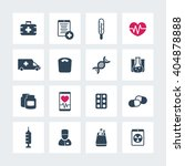 medicine icons  health care ... | Shutterstock .eps vector #404878888